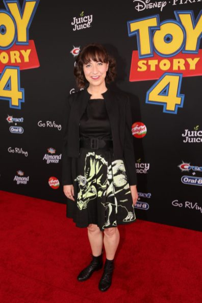 HOLLYWOOD, CA - JUNE 11: Kristen Schaal attends the world premiere of Disney and Pixar's TOY STORY 4 at the El Capitan Theatre in Hollywood, CA on Tuesday, June 11, 2019. (Photo by Jesse Grant/Getty Images for Disney) *** Local Caption *** Kristen Schaal