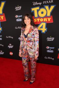 HOLLYWOOD, CA - JUNE 11: Melissa Villasenor attends the world premiere of Disney and Pixar's TOY STORY 4 at the El Capitan Theatre in Hollywood, CA on Tuesday, June 11, 2019. (Photo by Jesse Grant/Getty Images for Disney) *** Local Caption *** Melissa Villasenor