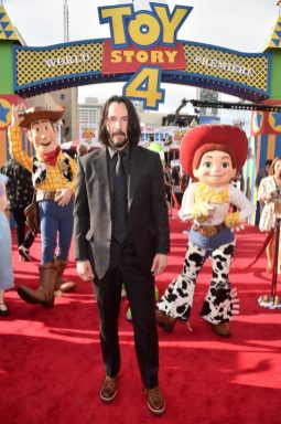 HOLLYWOOD, CA - JUNE 11: Keanu Reeves attends the world premiere of Disney and Pixar's TOY STORY 4 at the El Capitan Theatre in Hollywood, CA on Tuesday, June 11, 2019. (Photo by Alberto E. Rodriguez/Getty Images for Disney) *** Local Caption *** Keanu Reeves