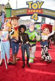 HOLLYWOOD, CA - JUNE 11: JD McCrary attends the world premiere of Disney and Pixar's TOY STORY 4 at the El Capitan Theatre in Hollywood, CA on Tuesday, June 11, 2019. (Photo by Alberto E. Rodriguez/Getty Images for Disney) *** Local Caption *** JD McCrary