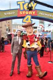 HOLLYWOOD, CA - JUNE 11: Tony Hale attends the world premiere of Disney and Pixar's TOY STORY 4 at the El Capitan Theatre in Hollywood, CA on Tuesday, June 11, 2019. (Photo by Alberto E. Rodriguez/Getty Images for Disney) *** Local Caption *** Tony Hale