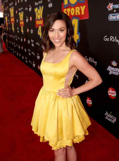 HOLLYWOOD, CA - JUNE 11: Juliana Hansen attends the world premiere of Disney and Pixar's TOY STORY 4 at the El Capitan Theatre in Hollywood, CA on Tuesday, June 11, 2019. (Photo by Jesse Grant/Getty Images for Disney) *** Local Caption *** Juliana Hansen