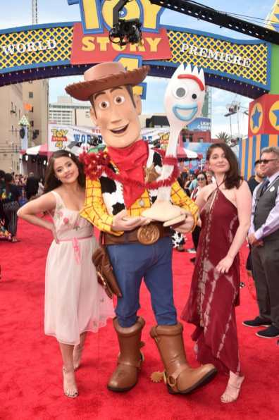 HOLLYWOOD, CA - JUNE 11: (L-R) Sarah Jeffery and Emma Kenney attend the world premiere of Disney and Pixar's TOY STORY 4 at the El Capitan Theatre in Hollywood, CA on Tuesday, June 11, 2019. (Photo by Alberto E. Rodriguez/Getty Images for Disney) *** Local Caption *** Emma Kenney; Sarah Jeffery