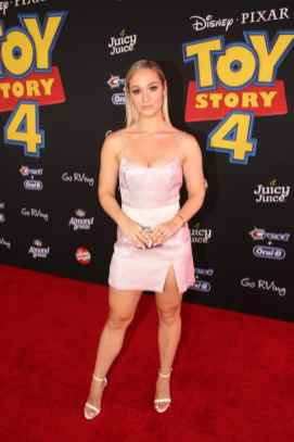 HOLLYWOOD, CA - JUNE 11: AlishaMarie attends the world premiere of Disney and Pixar's TOY STORY 4 at the El Capitan Theatre in Hollywood, CA on Tuesday, June 11, 2019. (Photo by Jesse Grant/Getty Images for Disney) *** Local Caption *** AlishaMarie