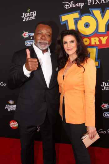 HOLLYWOOD, CA - JUNE 11: (L-R) Carl Weathers and Christine Klvdjian attend the world premiere of Disney and Pixar's TOY STORY 4 at the El Capitan Theatre in Hollywood, CA on Tuesday, June 11, 2019. (Photo by Jesse Grant/Getty Images for Disney) *** Local Caption *** Christine Klvdjian; Carl Weathers