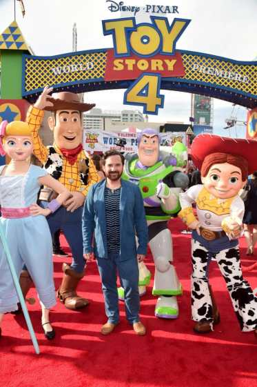 HOLLYWOOD, CA - JUNE 11: John Morris attends the world premiere of Disney and Pixar's TOY STORY 4 at the El Capitan Theatre in Hollywood, CA on Tuesday, June 11, 2019. (Photo by Alberto E. Rodriguez/Getty Images for Disney) *** Local Caption *** John Morris