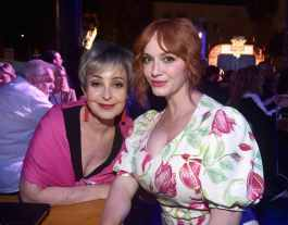 HOLLYWOOD, CA - JUNE 11: (L-R) Annie Potts and Christina Hendricks attend the world premiere of Disney and Pixar's TOY STORY 4 at the El Capitan Theatre in Hollywood, CA on Tuesday, June 11, 2019. (Photo by Alberto E. Rodriguez/Getty Images for Disney) *** Local Caption *** Christina Hendricks; Annie Potts