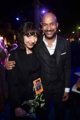 HOLLYWOOD, CA - JUNE 11: (L-R) Kristen Schaal and Keegan-Michael Key attend the world premiere of Disney and Pixar's TOY STORY 4 at the El Capitan Theatre in Hollywood, CA on Tuesday, June 11, 2019. (Photo by Alberto E. Rodriguez/Getty Images for Disney) *** Local Caption *** Keegan-Michael Key; Kristen Schaal