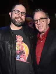 HOLLYWOOD, CA - JUNE 11: (L-R) Director Josh Cooley and Tim Allen attend the world premiere of Disney and Pixar's TOY STORY 4 at the El Capitan Theatre in Hollywood, CA on Tuesday, June 11, 2019. (Photo by Alberto E. Rodriguez/Getty Images for Disney) *** Local Caption *** Tim Allen; Lori Alan