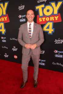 HOLLYWOOD, CA - JUNE 11: Tony Hale attends the world premiere of Disney and Pixar's TOY STORY 4 at the El Capitan Theatre in Hollywood, CA on Tuesday, June 11, 2019. (Photo by Jesse Grant/Getty Images for Disney) *** Local Caption *** Tony Hale