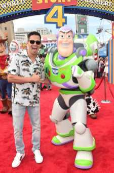 HOLLYWOOD, CA - JUNE 11: Jay Hernandez attends the world premiere of Disney and Pixar's TOY STORY 4 at the El Capitan Theatre in Hollywood, CA on Tuesday, June 11, 2019. (Photo by Alberto E. Rodriguez/Getty Images for Disney) *** Local Caption *** Jay Hernandez