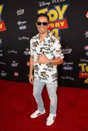 HOLLYWOOD, CA - JUNE 11: Jay Hernandez attends the world premiere of Disney and Pixar's TOY STORY 4 at the El Capitan Theatre in Hollywood, CA on Tuesday, June 11, 2019. (Photo by Jesse Grant/Getty Images for Disney) *** Local Caption *** Jay Hernandez