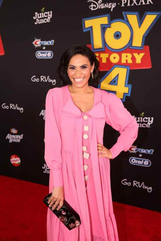 HOLLYWOOD, CA - JUNE 11: Tiffany Smith attends the world premiere of Disney and Pixar's TOY STORY 4 at the El Capitan Theatre in Hollywood, CA on Tuesday, June 11, 2019. (Photo by Jesse Grant/Getty Images for Disney) *** Local Caption *** Tiffany Smith