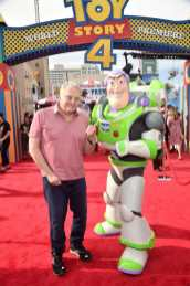 HOLLYWOOD, CA - JUNE 11: Composer Randy Newman attends the world premiere of Disney and Pixar's TOY STORY 4 at the El Capitan Theatre in Hollywood, CA on Tuesday, June 11, 2019. (Photo by Alberto E. Rodriguez/Getty Images for Disney) *** Local Caption *** Randy Newman