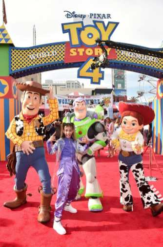 HOLLYWOOD, CA - JUNE 11: Kylie Cantrall attends the world premiere of Disney and Pixar's TOY STORY 4 at the El Capitan Theatre in Hollywood, CA on Tuesday, June 11, 2019. (Photo by Alberto E. Rodriguez/Getty Images for Disney) *** Local Caption *** Kylie Cantrall