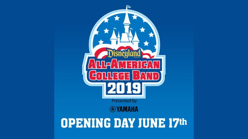 2019 Disneyland Resort All-American College Band Opening Day
