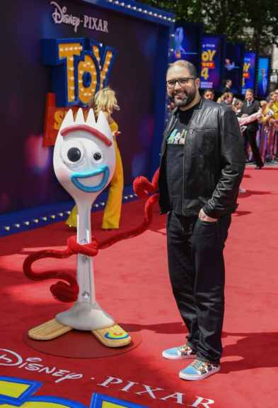 "LONDON, ENGLAND - JUNE 16: Director Josh Cooley attends the European premiere of Disney and Pixar's ""Toy Story 4"" at the Odeon Luxe Leicester Square on June 16, 2019 in London, England. (Photo by Gareth Cattermole/Getty Images for Disney and Pixar)"
