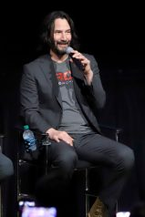 ORLANDO, FLORIDA - JUNE 08: Keanu Reeves attends the Global Press Junket for Pixar's TOY STORY 4 at Disney's Hollywood Studios on June 08, 2019 in Orlando, Florida. (Photo by John Parra/Getty Images for Disney)