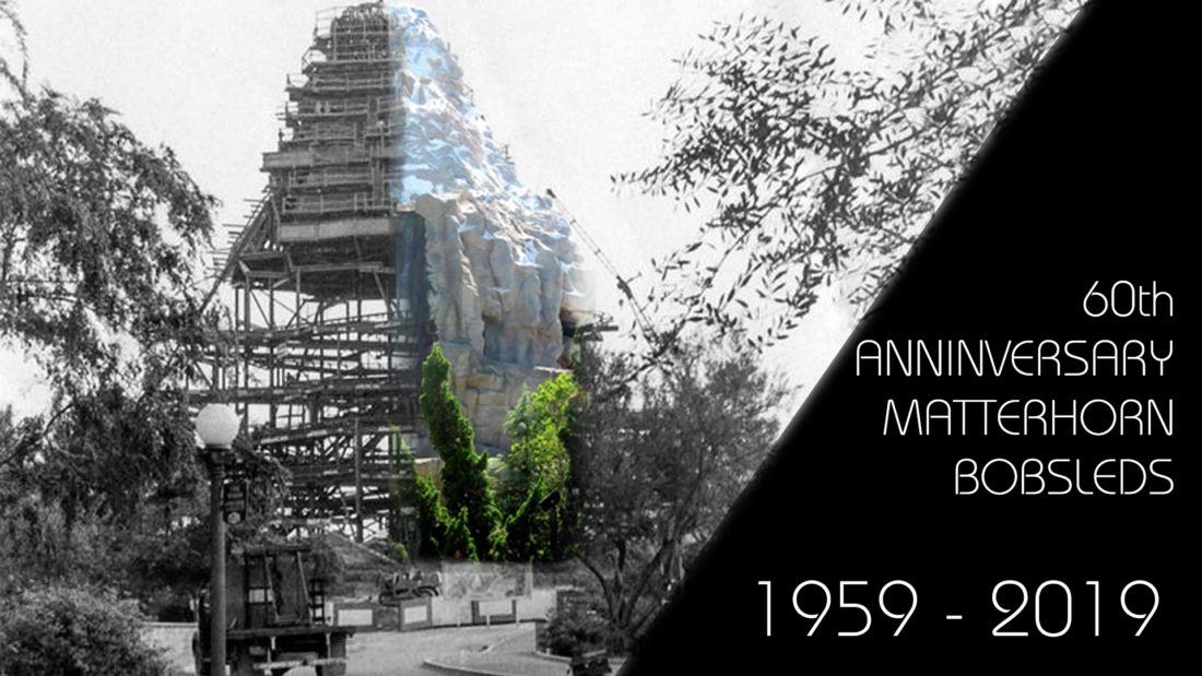 Matterhorn Bobsleds Then and Now - the 60th Anniversary of a Disneyland Original