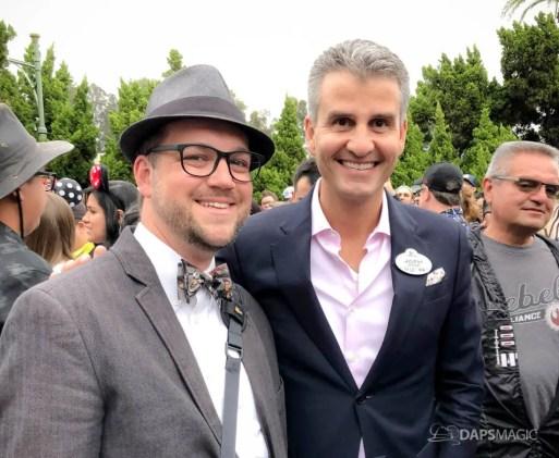 Mr. DAPs and Disneyland PresidentJosh D'Amaro