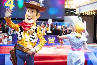 """Atmosphere at the European Premiere for Disney and Pixar's """"Toy Story 4"""" in at Odeon Leicester Square on 16 June 2019 in London, UK"""