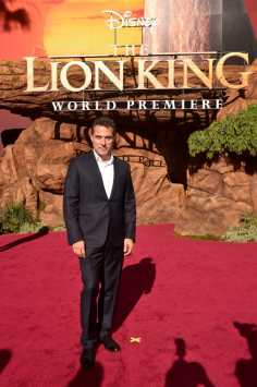 "HOLLYWOOD, CALIFORNIA - JULY 09: Rufus Sewell attends the World Premiere of Disney's ""THE LION KING"" at the Dolby Theatre on July 09, 2019 in Hollywood, California. (Photo by Alberto E. Rodriguez/Getty Images for Disney)"