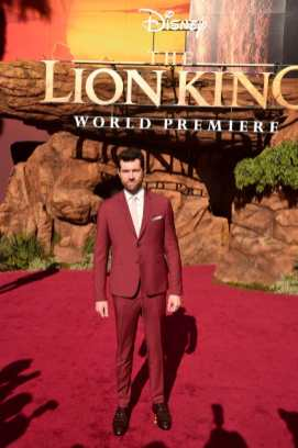 "HOLLYWOOD, CALIFORNIA - JULY 09: Billy Eichner attends the World Premiere of Disney's ""THE LION KING"" at the Dolby Theatre on July 09, 2019 in Hollywood, California. (Photo by Alberto E. Rodriguez/Getty Images for Disney)"