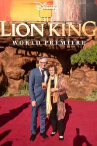 "HOLLYWOOD, CALIFORNIA - JULY 09: Irene Mecchi (R) attends the World Premiere of Disney's ""THE LION KING"" at the Dolby Theatre on July 09, 2019 in Hollywood, California. (Photo by Alberto E. Rodriguez/Getty Images for Disney)"