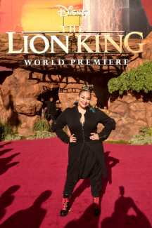 "HOLLYWOOD, CALIFORNIA - JULY 09: Raven-Symone attends the World Premiere of Disney's ""THE LION KING"" at the Dolby Theatre on July 09, 2019 in Hollywood, California. (Photo by Alberto E. Rodriguez/Getty Images for Disney)"