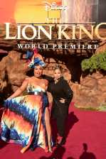 "HOLLYWOOD, CALIFORNIA - JULY 09: Patrick Starrr (L) and Raven-Symone attend the World Premiere of Disney's ""THE LION KING"" at the Dolby Theatre on July 09, 2019 in Hollywood, California. (Photo by Alberto E. Rodriguez/Getty Images for Disney)"