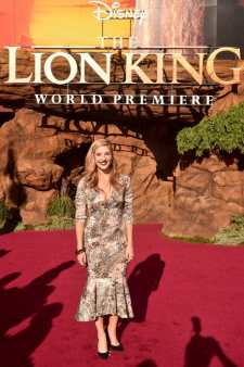 "HOLLYWOOD, CALIFORNIA - JULY 09: Anneliese van der Pol attends the World Premiere of Disney's ""THE LION KING"" at the Dolby Theatre on July 09, 2019 in Hollywood, California. (Photo by Alberto E. Rodriguez/Getty Images for Disney)"