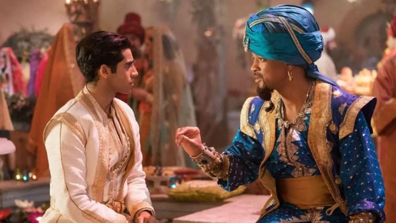 Aladdin and Genie - Disneys Aladdin