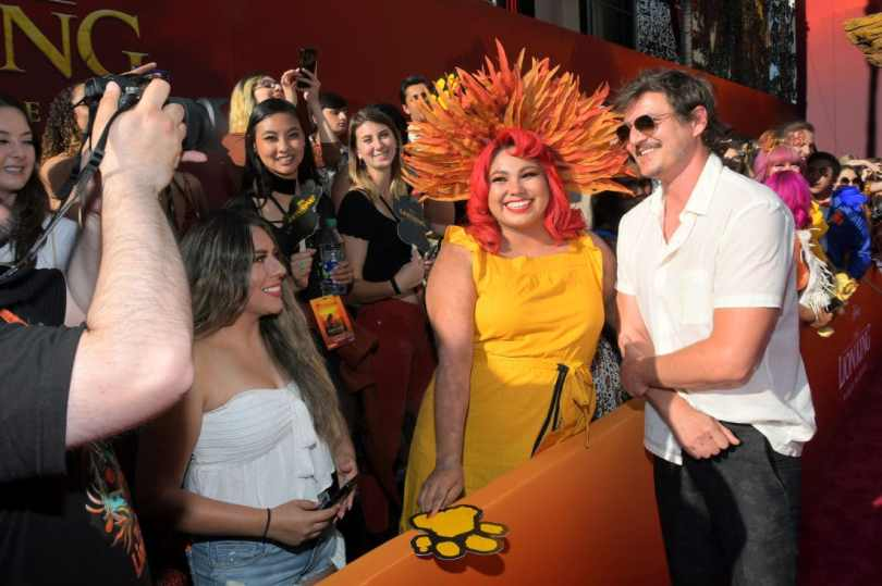 "HOLLYWOOD, CALIFORNIA - JULY 09: Pedro Pascal attends the World Premiere of Disney's ""THE LION KING"" at the Dolby Theatre on July 09, 2019 in Hollywood, California. (Photo by Charley Gallay/Getty Images for Disney)"