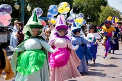 Disneyland 64th Birthday Cavalcade-103