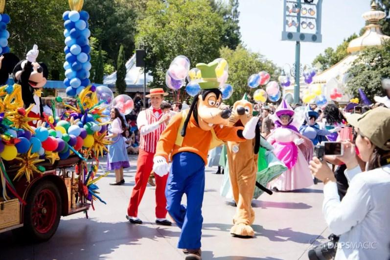 Disneyland 64th Birthday Cavalcade-45
