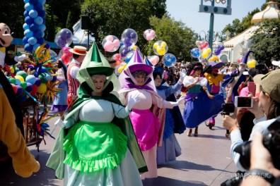 Disneyland 64th Birthday Cavalcade-49