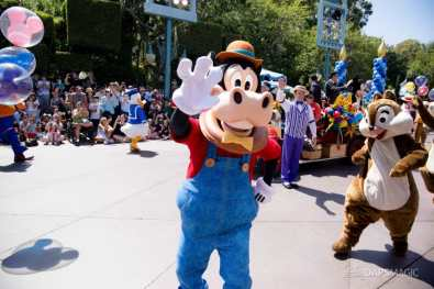 Disneyland 64th Birthday Cavalcade-68