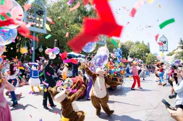 Disneyland 64th Birthday Cavalcade-83