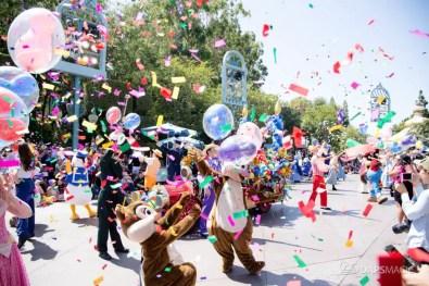 Disneyland 64th Birthday Cavalcade-84