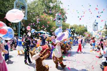 Disneyland 64th Birthday Cavalcade-85