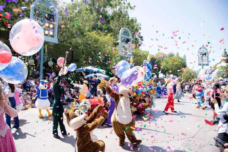 Disneyland 64th Birthday Cavalcade-86