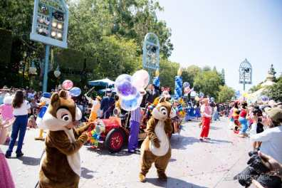 Disneyland 64th Birthday Cavalcade-93