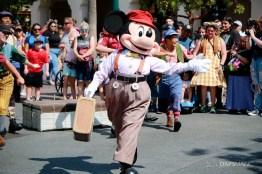 Final Performance Red Car Trolley News Boys at Disney California Adventure-18