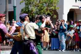Final Performance Red Car Trolley News Boys at Disney California Adventure-2