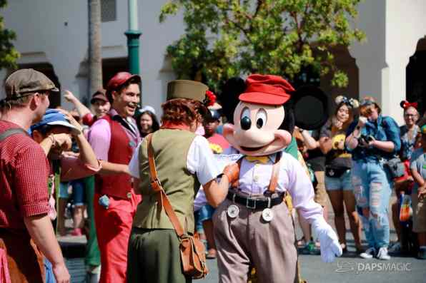 Final Performance Red Car Trolley News Boys at Disney California Adventure-21