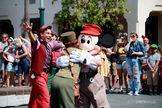 Final Performance Red Car Trolley News Boys at Disney California Adventure-22