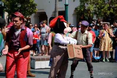 Final Performance Red Car Trolley News Boys at Disney California Adventure-5