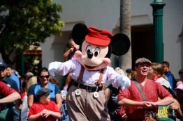 Final Performance Red Car Trolley News Boys at Disney California Adventure-8