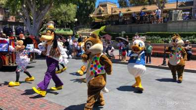 First Performance- Mickey and Friends Band-Tastic Cavalcade at Disneyland-18