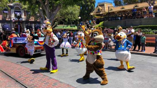 First Performance- Mickey and Friends Band-Tastic Cavalcade at Disneyland-26